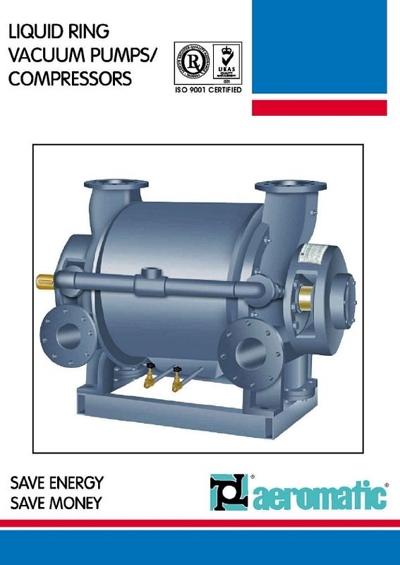 Water Seal For Centrifugal Blowers : Water ring vacuum pump compressors